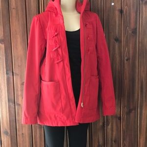 Lululemon Fleece Lined Warm Rain Windbreaker Coat